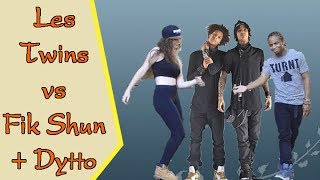 Hip hop 2017 - Les Twins vs Fik Shun and Dytto - Best Dance Of The World 2017