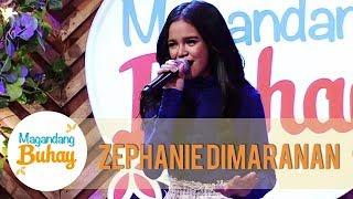 Zephanie Dimaranan sings Bawat Daan | Magandang Buhay