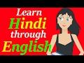 Learn Hindi through English | Full course