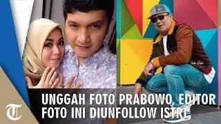 Unggah Foto Prabowo Bergaya Kekinian di IG, Editor Foto Diancam Unfollow oleh Istrinya