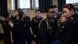 Lane Tech Warrior Battalion Mannequin Challenge
