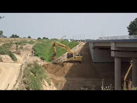 Budowa drogi ekspresowej S19 (obw. m. Kraśnik) - tydzień 02 - Lipiec