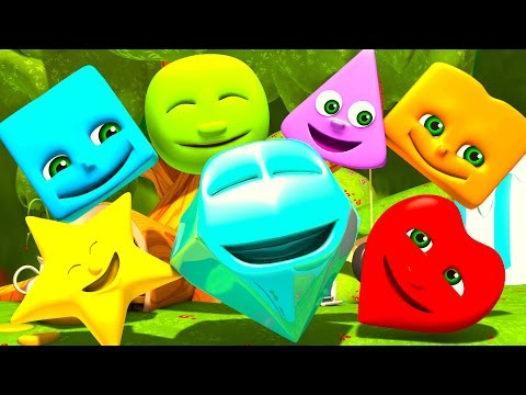 Shapes | Numbers | Colors | ABC Alphabet & Nursery Rhymes Songs