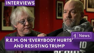 R.E.M. Talk Everybody Hurts, Resisting Donald Trump And Getting Back Together