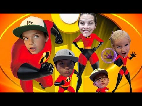 HOW INCREDIBLE IS INCREDIBLES 2? 🎬 SUPER KIDS SUPERHERO MOVIE REVIEW