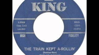 Jump Blues * THE TRAIN KEPT A-ROLLIN' - Tiny Bradshaw [King #9068] 1951