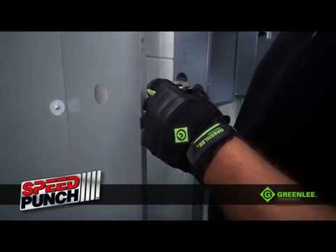 Knockouts SPEED PUNCH™ from Greenlee