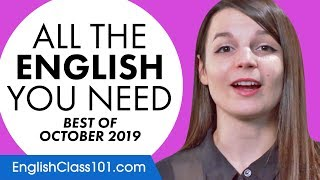 Your Monthly Dose of English - Best of October 2019