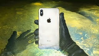 I Found a Working iPhone X Underwater at Closed Waterpark! (Returned to Owner)