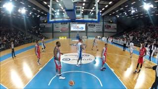 preview picture of video 'Fribourg Olympic Basket - BC Boncourt'