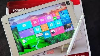Toshiba Encore 2 Write (2015) unboxing and hands on
