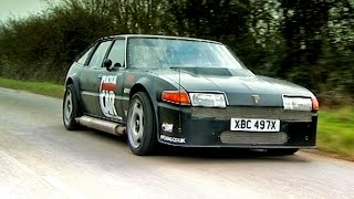 Driving A Rover SD1 With A Plane Engine #TBT   Fifth Gear