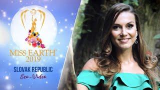Stanislava Luckova Miss Earth Slovakia 2019 Eco Video