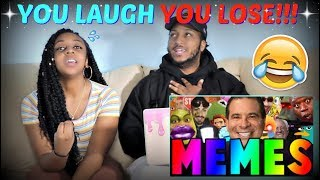 "TRY NOT TO LAUGH!!! ""BEST MEMES COMPILATION V50"""