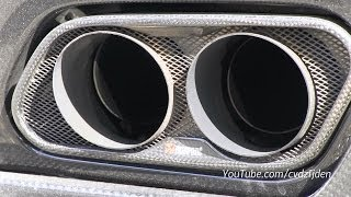 Mercedes Benz SLS AMG with Akrapovic Exhaust System!