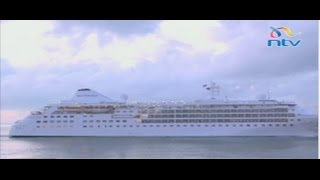 Over 200 tourists arrive in Mombasa on cruise ship - VIDEO