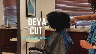 Deva Cut on 3C/4A Natural Hair During Quarantine #devacut #curlycut #naturalhaircut