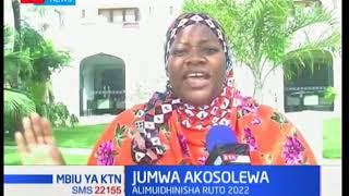 Aisha Jumwa na baadhi ya wabunge wa ODM wakosolewa kwa kumuidhinisha naibu rais William Ruto