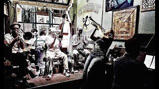 "Shotgun Jazz Band, 5.10.17, ""Fidgety Feet"" New Orleans Spotted Cat Marla Dixon Ben Polcer Ed Polcer"