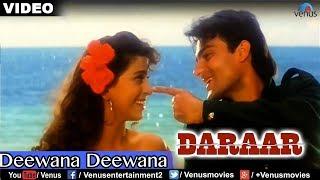 Deewana Deewana Full Video Song : Daraar | Rishi Kapoor