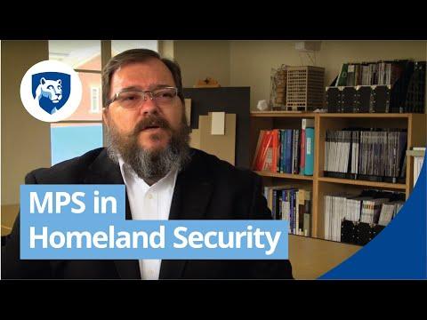 Homeland Security Master's Degree Programs Online