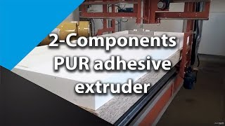 2-COMPONENTS PUR SIPS MANUFACTURING