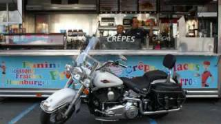 preview picture of video 'Harley Davidson Softail Heritage  gers france'