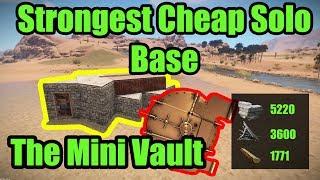 RUST Base Building - Rust Solo Base Design - Rust 3.0  - The Mini Vault