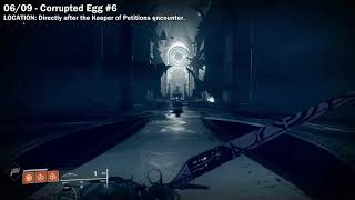 """All 9 Corrupted Egg Locations in """"The Shattered Throne"""" Dungeon [Destiny 2 Forsaken]"""