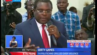 Bungoma Governor Kenneth Lusaka accuses rival Wycliffe Wangamati off unleashing bees on him