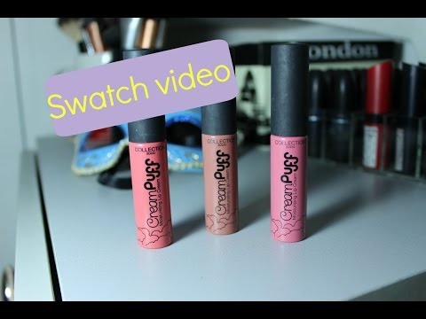 Swatch: Collection Creampuff Matte