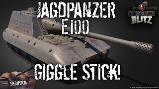 Jagdpanzer e-100 - Giggle Stick! - Wot Blitz