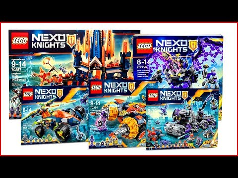 COMPILATION ALL LEGO Nexo Knights 2017 - Speed Build