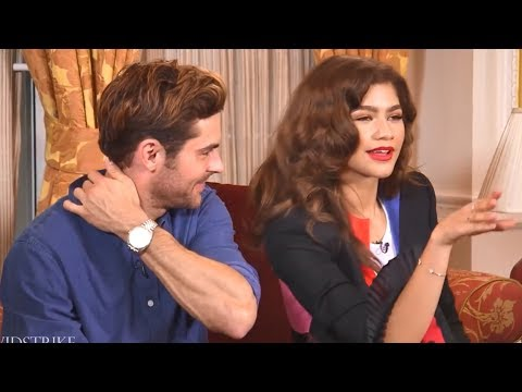 Zac Efron Can't Contain Himself Around Zendaya