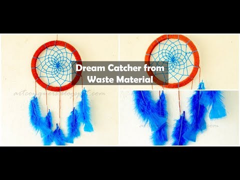 Dream Catcher from Waste Material
