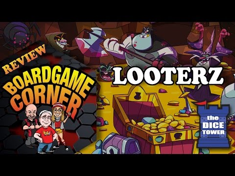 Boardgame Corner (Dice Tower) Reviews: Looterz