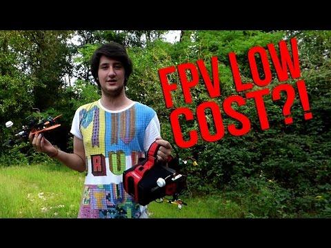 Test occhiali FPV LOW COST sul campo
