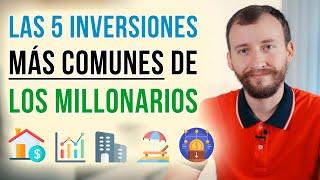 Video: Las 5 Inversiones Más Comunes De Los Millonarios
