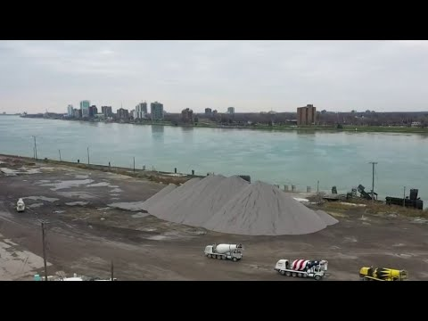 Seawall damage puts Detroit River at risk; Big city fines not being paid