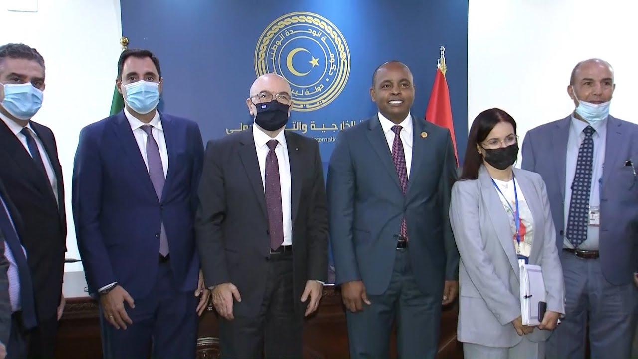 Κ. Φραγκογιάννης σε υπουργό Μεταφορών Λιβύης: Η φιλία πρέπει να φαίνεται και με πράξεις