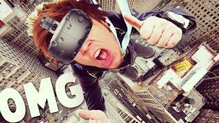 SUPERANDO MI MIEDO A LAS ALTURAS? | Realidad Virtual (HTC Vive)