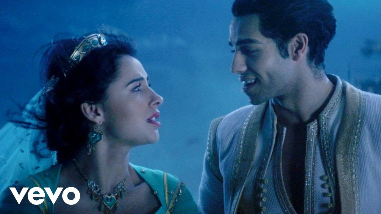 Mena Massoud, Naomi Scott — A Whole New World (OST Aladdin)