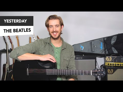 The Beatles - YESTERDAY EASY Guitar Lesson Tutorial // Paul McCartney - how to play