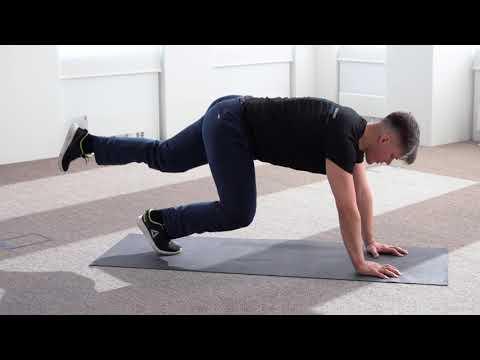 Защемление седалищного нерва — Упражнения