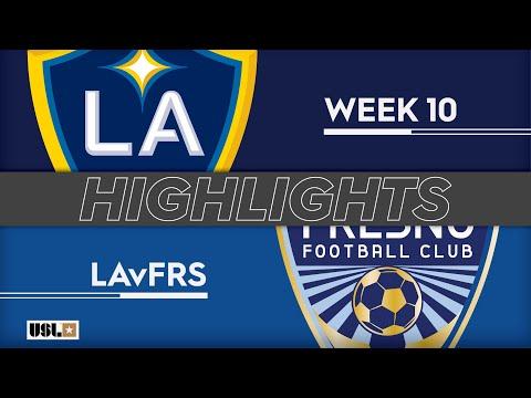 LA Galaxy 2 - Fresno 0:3. Видеообзор матча 13.05.2019. Видео голов и опасных моментов игры