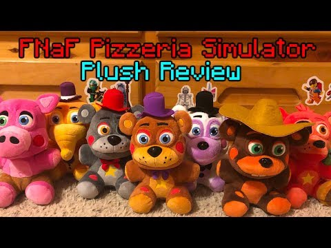 NEW FNAF PIZZERIA SIMULATOR PLUSH AND MYSTERY MINIS
