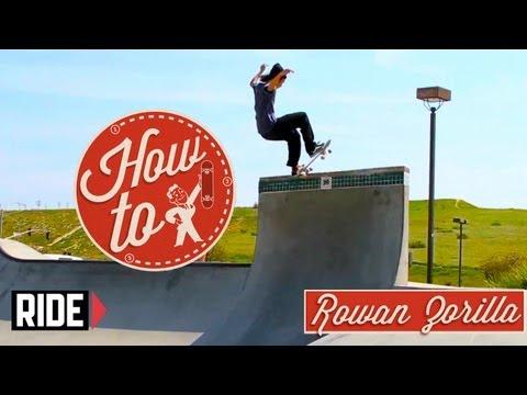 How-To Skateboarding: Frontside Pivot Stall with Rowan Zorilla