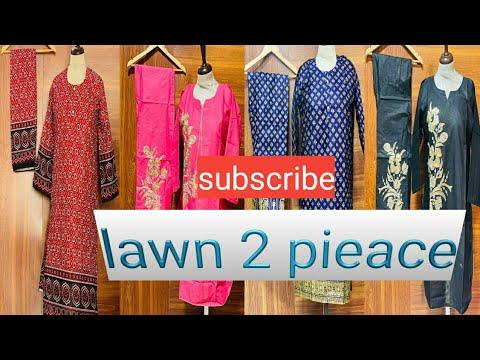 Lawn 2 pieace suit