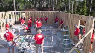 Habitat volunteers build homes on Sept. 11 Day of Service