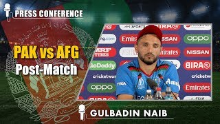 Fans Should Be Outside The Playing Area - Gulbadin Naib